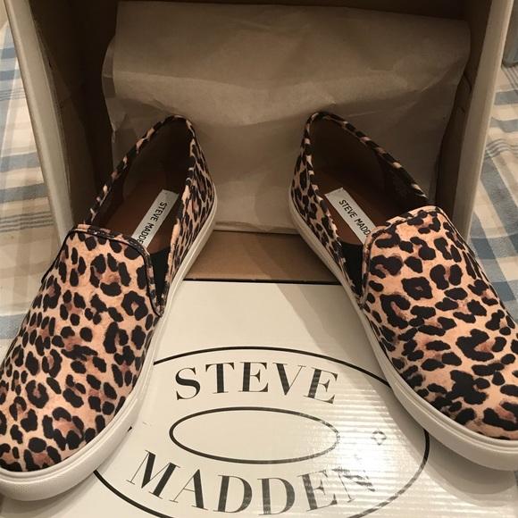 4020cf7cdc17 New Steve Madden Leopard Safary slip ons!❤ . M_5c3a250eaa571924492135cd